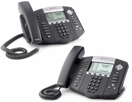 Polycom SoundPoint IP 550 and 650