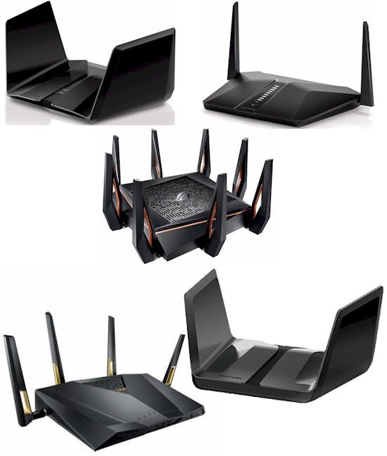 Wi-Fi 6 Performance Roundup: Five Routers Tested