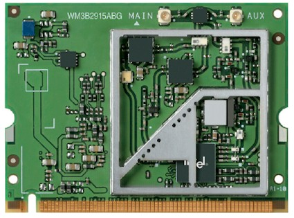 Intel PRO/Wireless 2915ABG board
