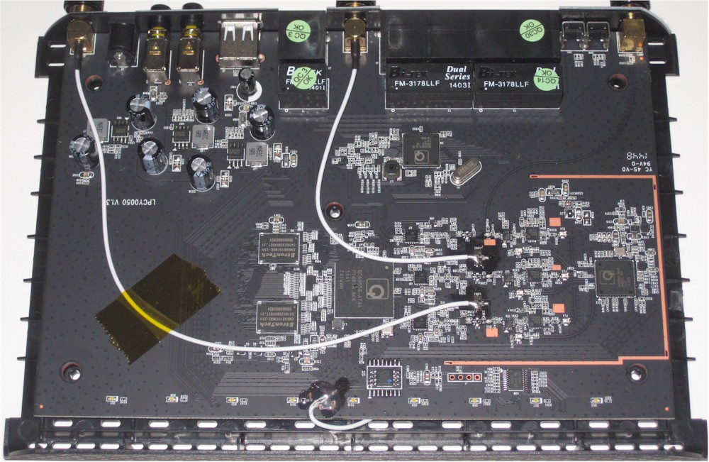 Amped Wireless RTA1750 board