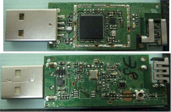 Belkin N150 USB adapter board