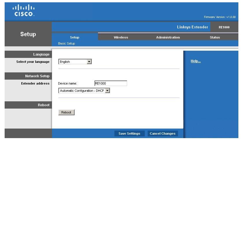 Cisco Linksys RE1000 Wireless-N Extender Reviewed - SmallNetBuilder