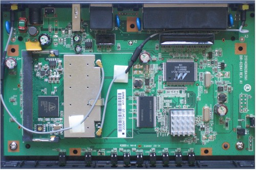 DIR-628 main board