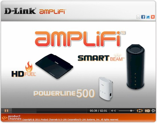 D-Link's Amplify products