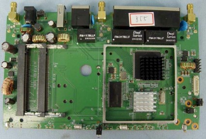 DIR-855 main board
