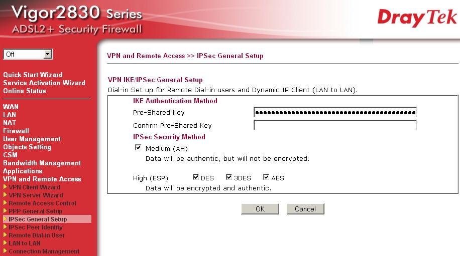 Draytek Vigor 2830n plus Dual-WAN ADSL2/2+ Security Firewall