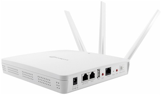 3 x 3 AC Dual-Band Wall-Mount PoE Access Point