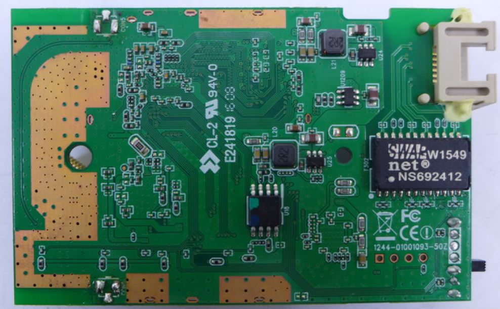 Edimax RE11S board bottom