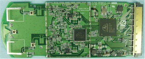 Linksys WPC100 board with Murata SWF connector