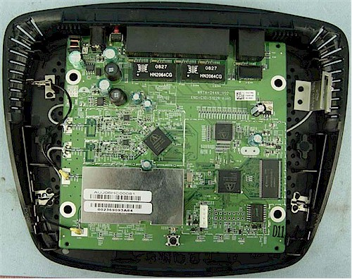 WRT400N inside view