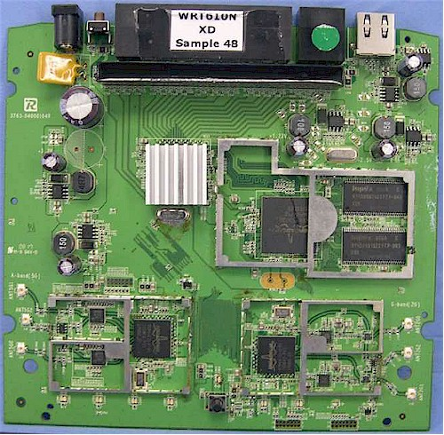 WRT610NV1 board