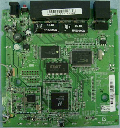 Linksys WRT110 board