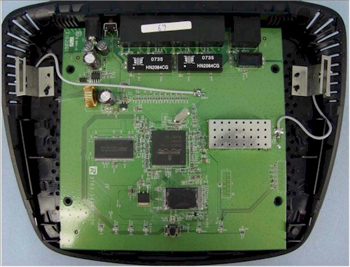 WRT54G2 main board