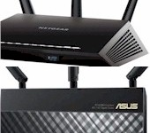AC1900 First Look: NETGEAR R7000 & ASUS RT-AC68U - Click for review