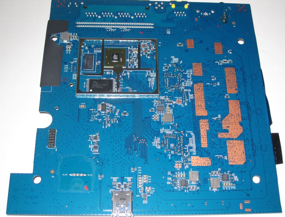 NETGEAR R7300DST PCB bottom