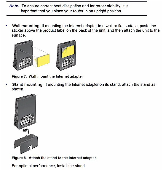 NETGEAR WNCE3001 installation advice