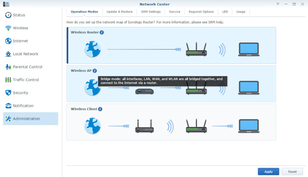 Synology Diskstation Static Route