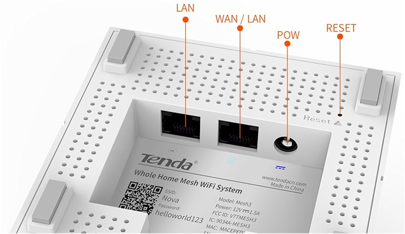 Tenda MW6 Nova Whole Home Mesh WiFi System Reviewed - SmallNetBuilder