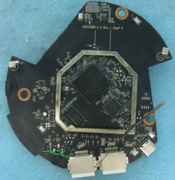 TP-Link M5 board bottom