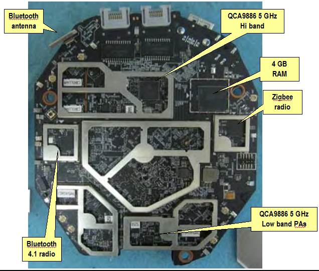 TP-Link M9+  board top