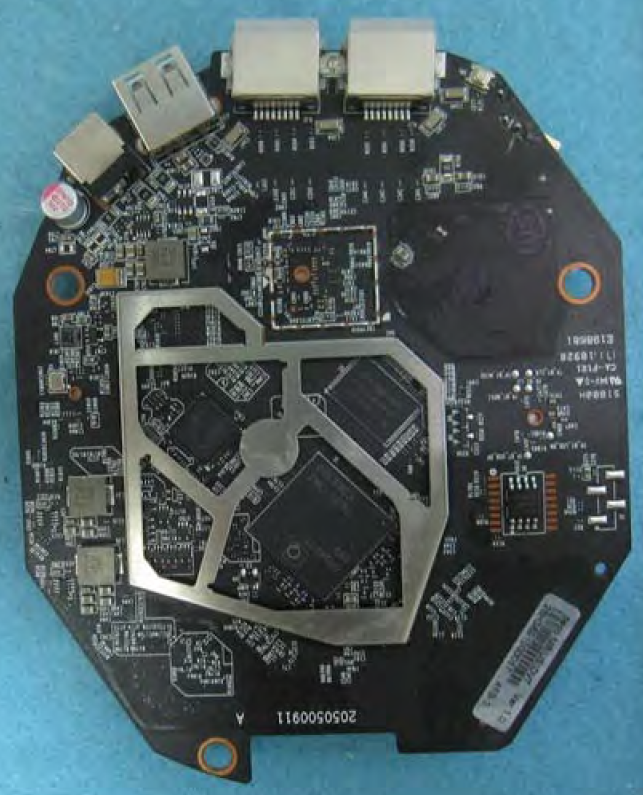 TP-Link M9+ board bottom