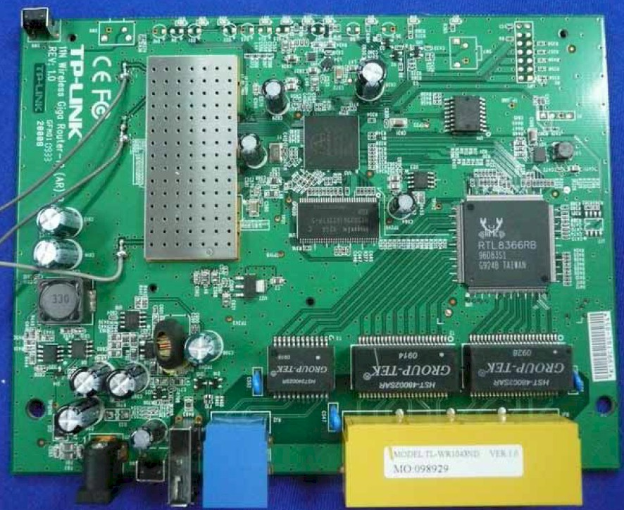 Cisco X2000 inside view
