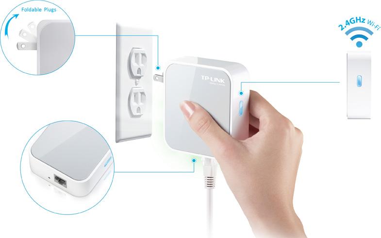 TL-WR700N TP-Link 150Mbps Wireless N Mini Pocket Router