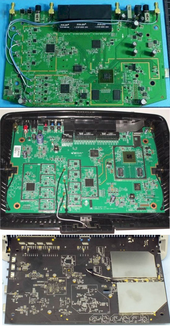 Amped Wireless RTA2600 & Linksys EA8500 and TP-LINK Archer C2600 boards