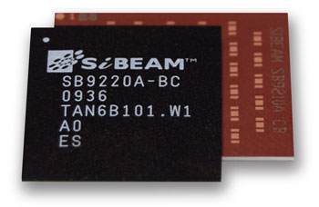Sibeam WirelessHD HRTX chipset