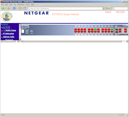 Figure 3 : GUI with Firefox 1.5 (click image to enlarge)