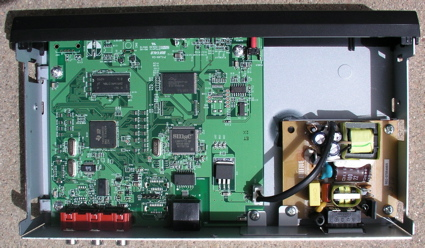Figure 11: LinkTheater mini Main Board with Power Supply
