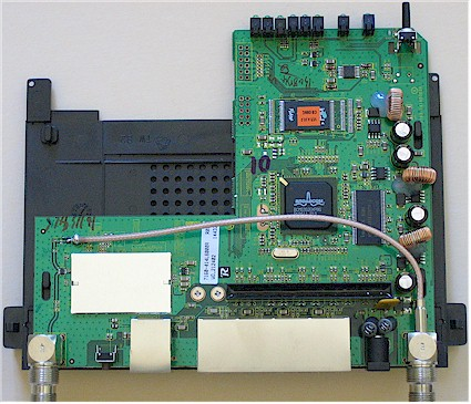 Figure 2: Linksys WRT54GL V1.1 Board