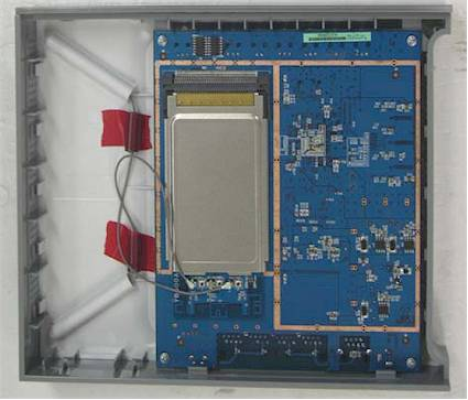 Figure 4: Netgear WNR834B board top view