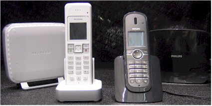 Philips and Netgear Cordless Skype Phones from Ascalade