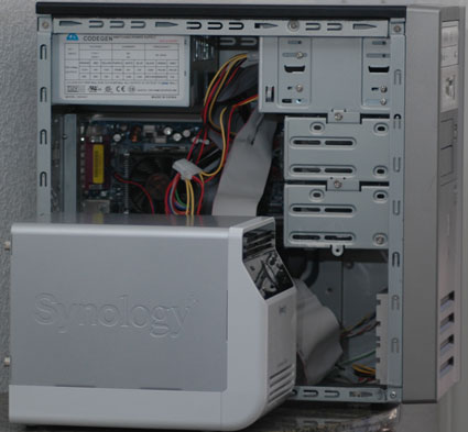 CS-406 Next To A Normal NAS Box