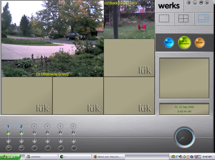 Camera Application (click image to enlarge)