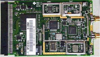 Internal view of SMC2532W-B card