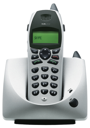 Olympia Cordless DualPhone for Skype