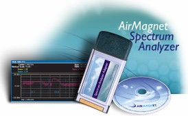 AirMagnet Spectrum Analyzer