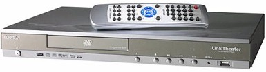 BuffaloTech LinkTheater High-Definition Wireless Media Player with Progressive Scan DVD