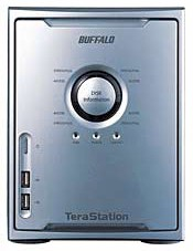 BuffaloTech TeraStation TeraByte Network Attached Storage