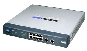 Linksys 10/100 8-Port VPN Router