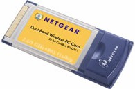 NETGEAR Dual Band Wireless PC Card
