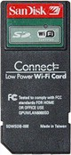 Sandisk SD Wi-Fi card