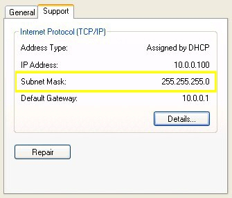 Linksys RV802 - Subnet mask set to 255.255.255.0