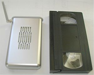 Smaller than a soon-to-be-obsolete VHS tape