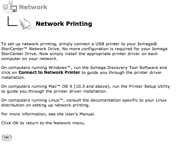Setting up the Print Server