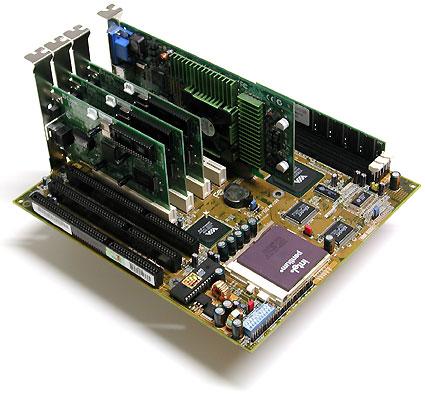 The Hardware - Pentium 75 Socket 7 system
