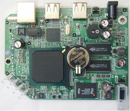 Linksys NSLU2: The Board