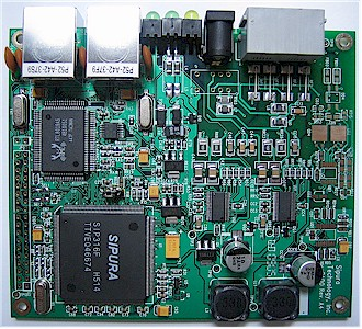 Sipura 2100 board top